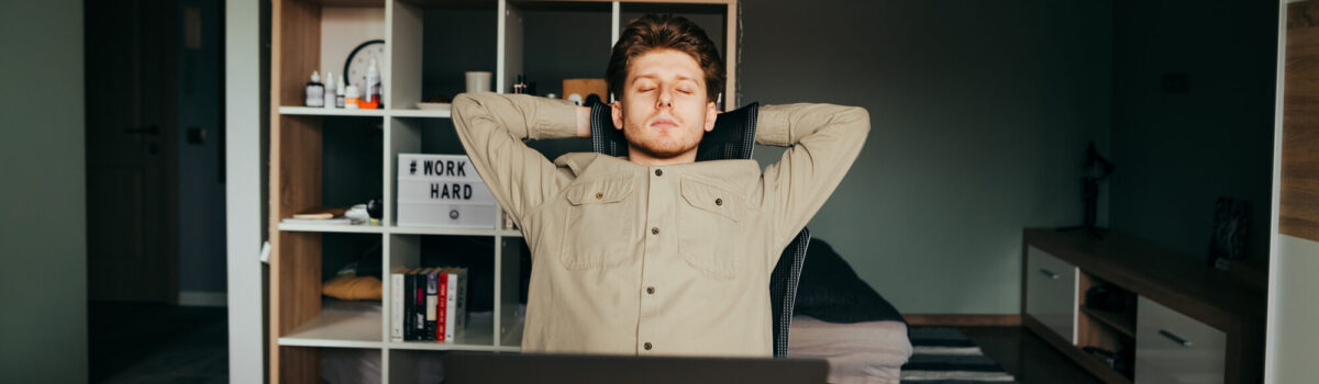 Dealing with programmers who seems to be relaxing